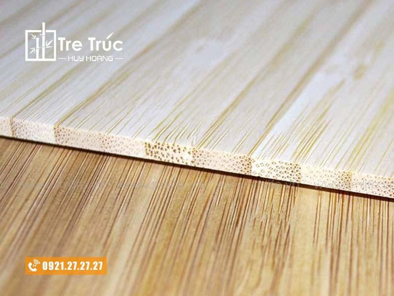 Tấm ván gỗ tre ép ngang